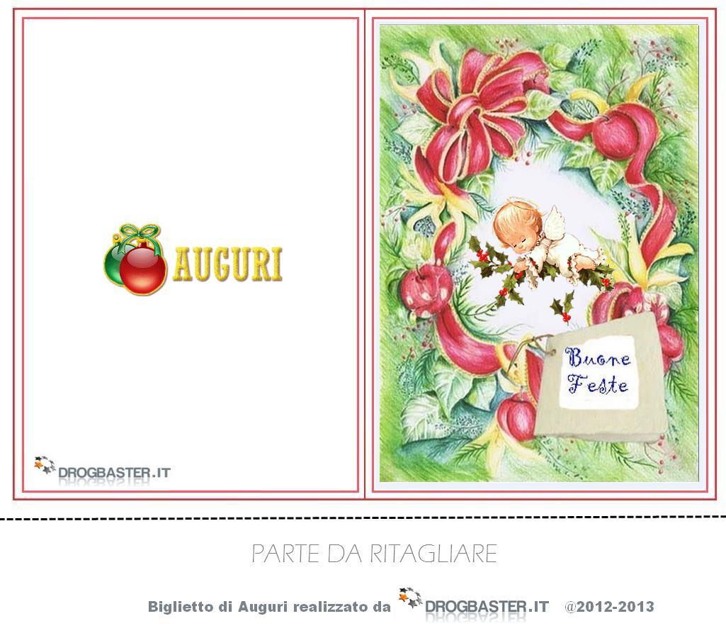 Bigliettini di auguri natalizi e di buon anno for Biglietti auguri natale da stampare