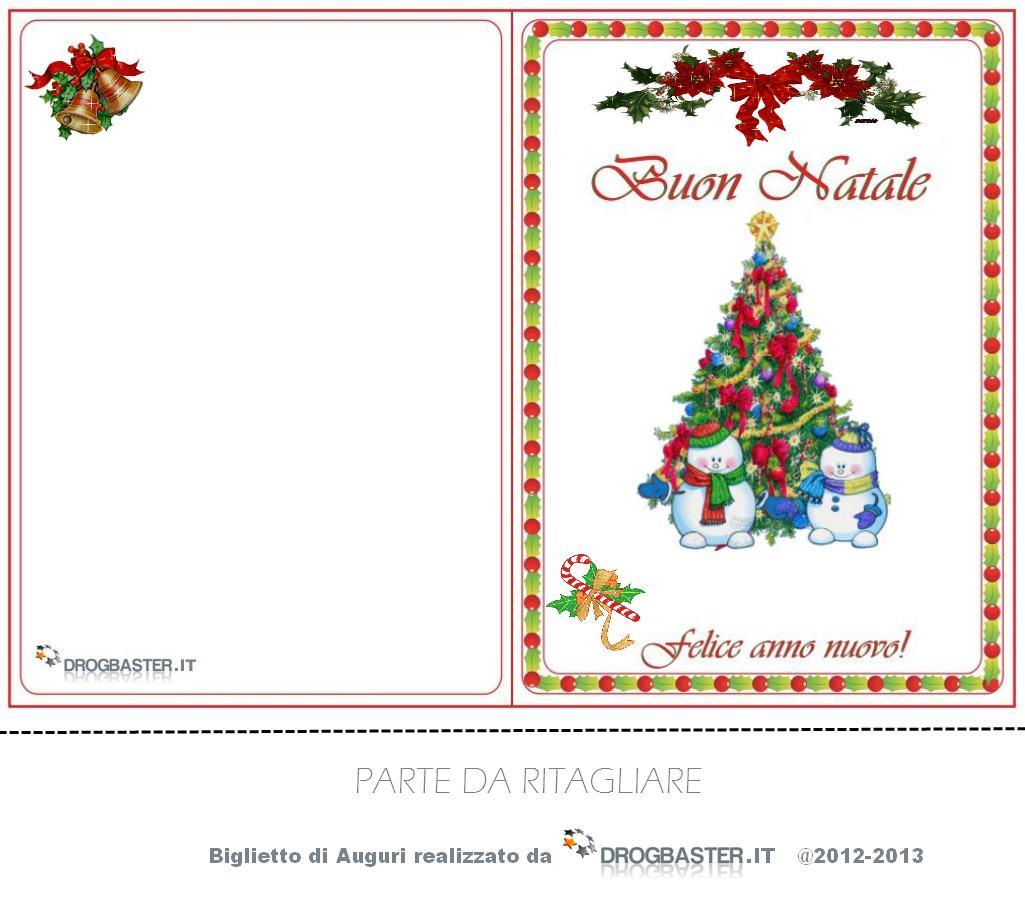 Disegni natalizi per biglietti d'auguri