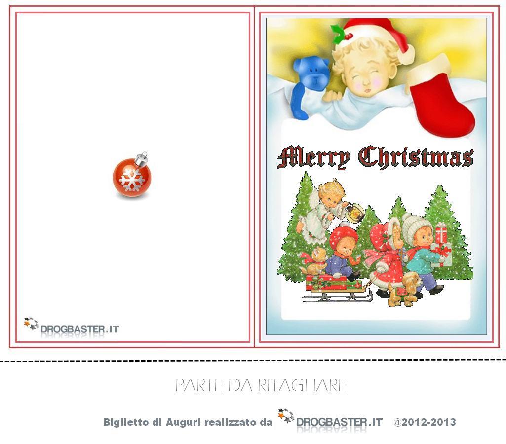 Biglietti Per Regali Di Natale Da Stampare.Biglietti Di Natale Da Stampare Gratis Per Auguri Di Buon Natale