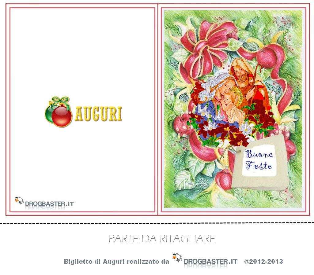 Ben noto Scarica gratis e Stampa i biglietti di Natale QI01