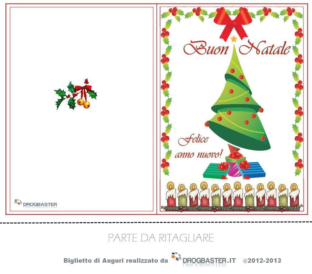 Biglietti di natale da stampare gratis per auguri di buon for Sito regali gratis