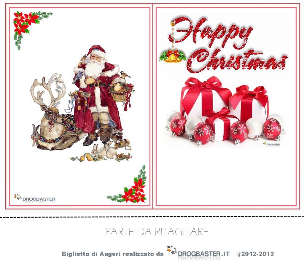 Bigliettini di auguri natalizi e di buon anno - Immagine di regali di natale ...