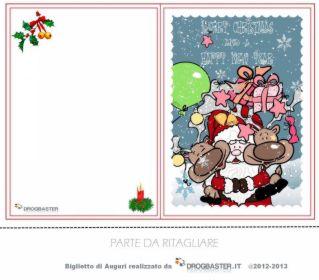 Happy Christmas bigliettino