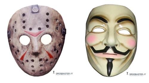 Halloween Maschere.Maschere Di Halloween Per Bambini