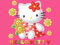 Hello Kitty scritta colorata