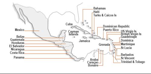 isole dipendenti dagli Stati Uniti o da Stati europei