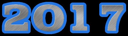 Scritta 2017 static bold