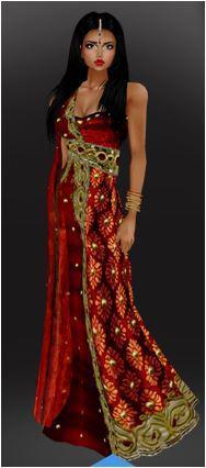 avatar donna stile orientale