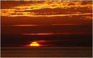tramonto: bel tempo in arrivo