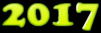 scritta in cifre anno 2017