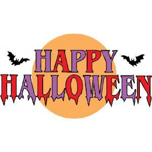Scritta halloween gif glitter animate Disegni halloween da colorare gratis