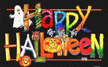 Scritta halloween gif glitter animate - Funny happy halloween wallpaper ...