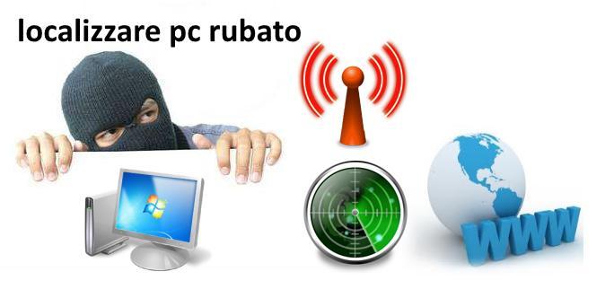Come localizzare un computer rubato