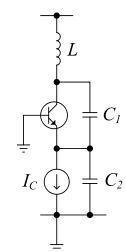oscillatore Colpitts
