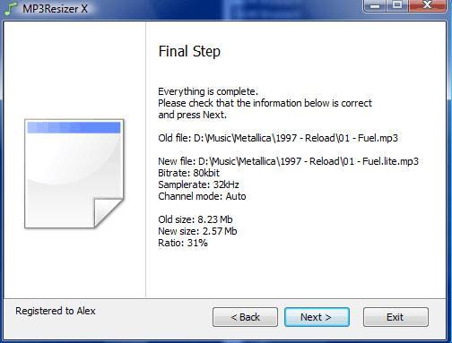 step finale riduzione peso mp3
