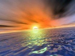 elaborazione immagine photoshop tramonto sole