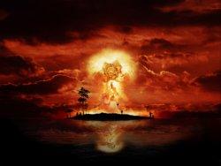 sfondo hd bomba nucleare