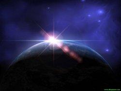 sfondo pianeta 3d