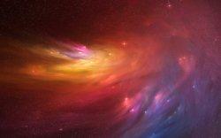 sfondo tridimensionale atmosfera nebulosa