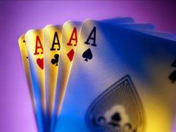 carte da gioco quattro assi
