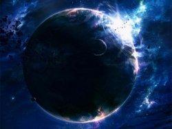 sfondo galattico pianeta