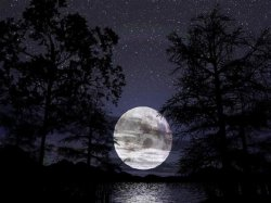 sfondo fantasy luna