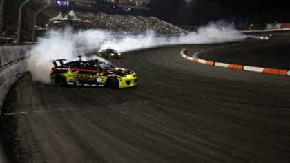 Auto da corsa drifting