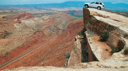 Auto 4x4 nel Grand Canyon