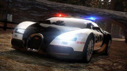 Elegante e veloce auto della Polizia
