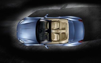 Inquadratura dell'auto vista dall'alto