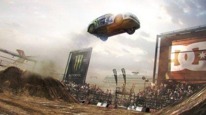 Immagine del videogame Dirt2 gioco di rally della serie Colin McRae .