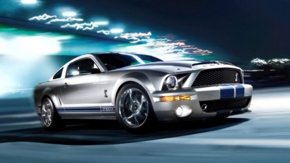 Auto Bellissima e potente: Ford Mustang