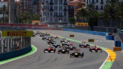 Foto gara circuito di Formula 1