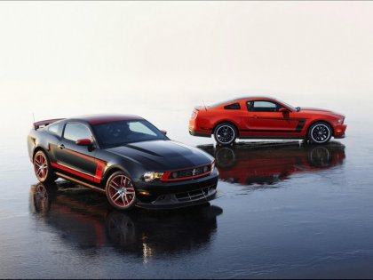 Several Mustang auto sportive