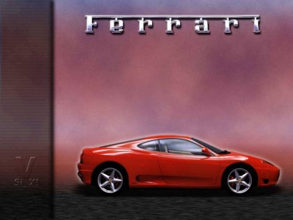 Wallpaper auto Ferrari