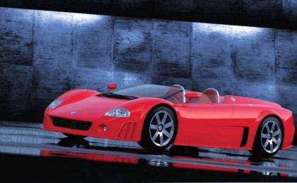 Wallpaper autovettura di color rosso