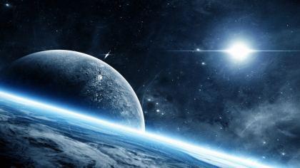 Aurora Blue immagine del cosmo