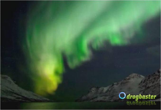 aurora polare  denominata spesso aurora boreale