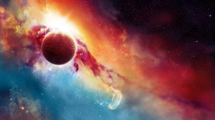 Galassia pianeta Marte