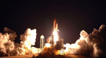 Fase di Lancio dello Shuttle