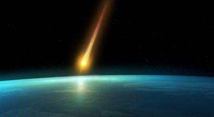 Impatto cometa con pianeta