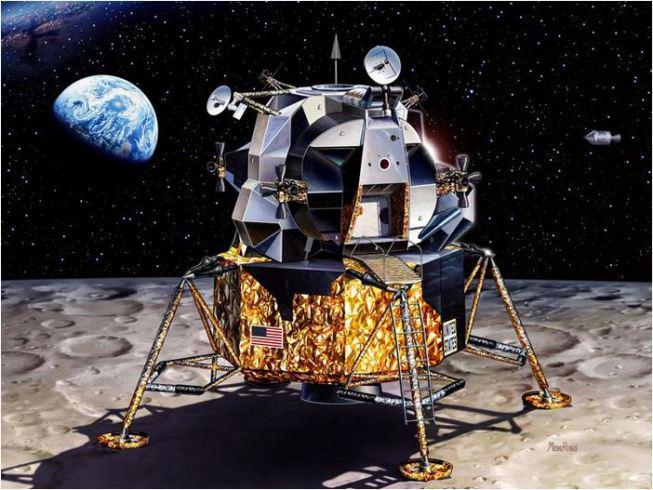 modulo lunare credits: NASA