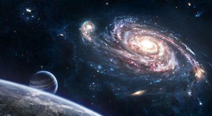 Nebulosa vista della via lattea