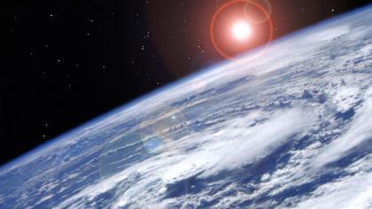 Orbita terrestre del pianeta Terra