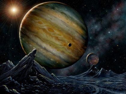 Pianeta Giove del sistema solare