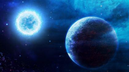 Corpo Celeste e Sirio Pianeta della Galassia