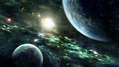Sfondo Pianeti del sistema solare