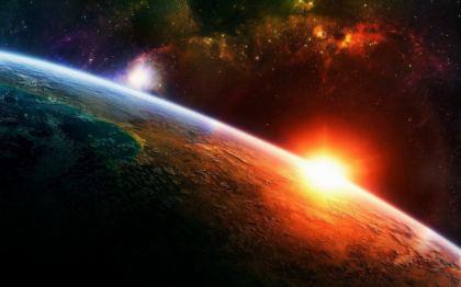 Universo Spazio Marte il Pianeta Rosso