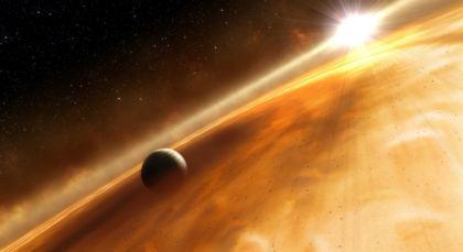 Pianeta dell'universo galassia Via Lattea