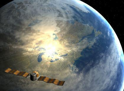 Satellite osserva la Terra